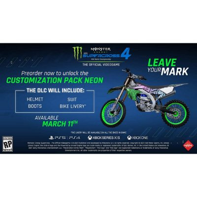 Monster Energy Supercross 4 - Xbox One / Series X / S