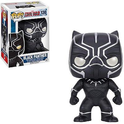 Funko Pop Captain America 130 Black Panther Pantera Negra