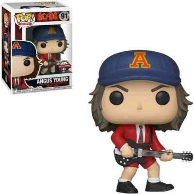 Funko Pop Rocks 91 Angus Young AC/DC Special Edition