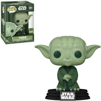 Funko Pop Star Wars 124 Yoda Military Green Limited Edition