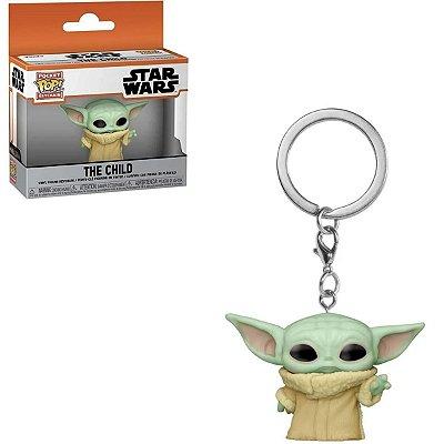 Chaveiro Funko Pocket Pop Star Wars Baby Yoda Child