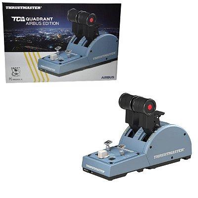 Thrustmaster TCA Quadrant Airbus Edition Manete Throttle PC