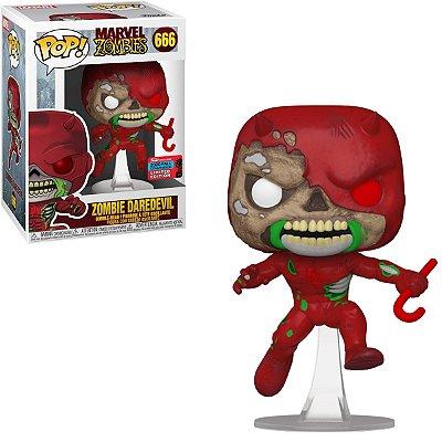 Funko Pop Marvel Zombies 666 Zombie Daredevil Exclusive