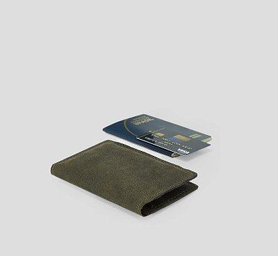 Porta Passaporte, Dinheiro, Documentos para Viagem Couro Estonado