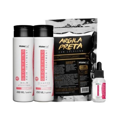 Kit Growthing Hair Treatment Detox - Mister Hair