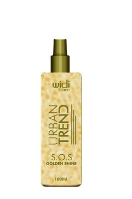 URBAN TREND S.O.S GOLDEN SHINE SPRAY • 100 ml •