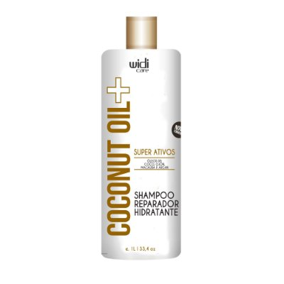 SHAMPOO REPARADOR HIDRATANTE  COCONUT OIL + •980 ml •