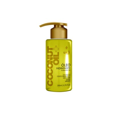 ÓLEO HIDRATANTE COCONUT OIL + • 120 ml •
