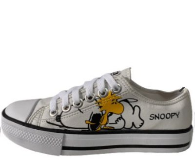 TÊNIS CONVERSE ALL STAR SNOOPY - BRANCO