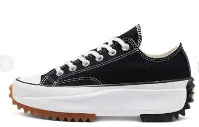 TÊNIS CONVERSE ALL STAR RUN STAR HIKE LOW - PRETO