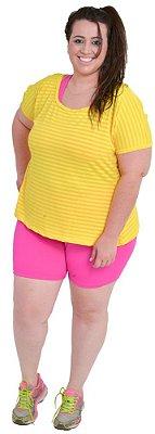 Shorts Rosa Plus Size