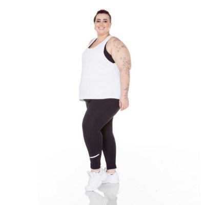 Regata Plus Size Antimicrobiana