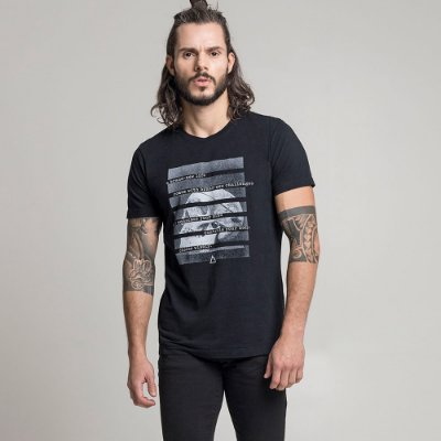 CAMISETA STONE CHOOSE WISELY PRETO