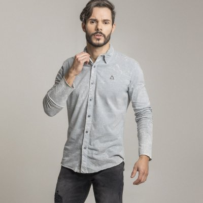 CAMISA STONE LIGHT SHADOW