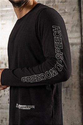 T-SHIRT MANGA LONGA FREEDOM