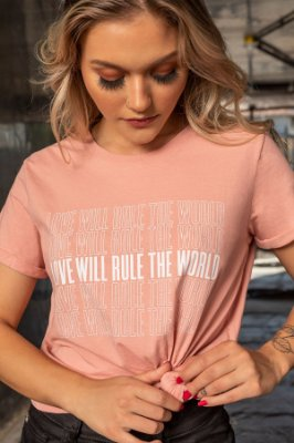 T-SHIRT STONE LOVE WILL RULE
