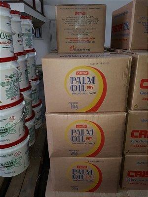 GORDURA DE PALMA CRISTA - CAIXA DE 24 KG