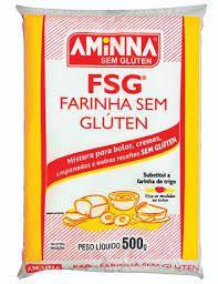 FARINHA AMINNA (Sem Gluten) -500 GRAMAS