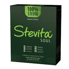 Stevita Soul 70mg X 50 SACHES (100% STEVIA)