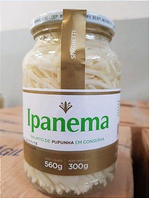 PALMITO DE PUPUNHA EM CONSERVA - SPAGHETTI - 560grs