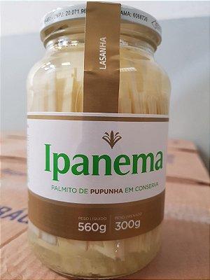 PALMITO DE PUPUNHA EM CONSERVA - LASANHA- 560grs