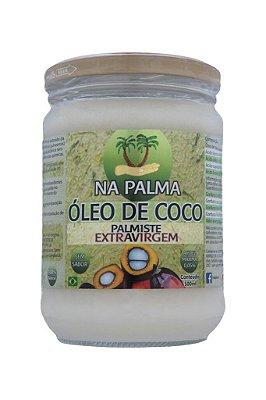ÓLEO DE COCO NA PALMA -  EXTRA VIRGEM-500 ml