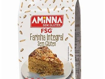 FARINHA AMINNA INTEGRAL (Sem Gluten) -500 GRAMAS