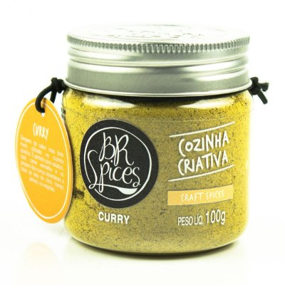 CURRY- BR SPICES - 100 GRAMAS