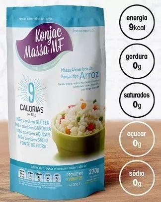 Arroz KONJAC- 270 gramas