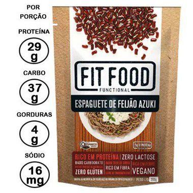 KIT Espaguete de Feijão Azuki (200G) – FIT FOOD - 4 unidades x 200g