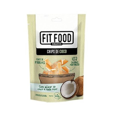 Chips de Coco 40g Fit Food