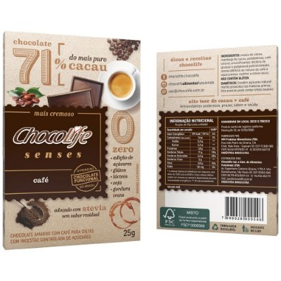 Chocolife Senses Café 25g
