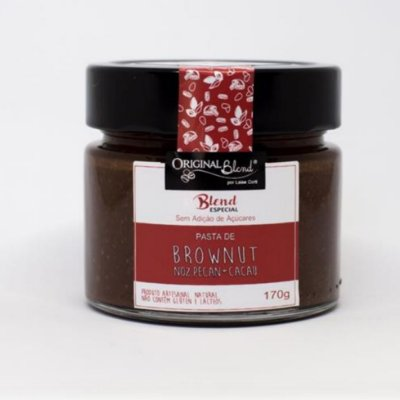 PASTA BROWNUT (BLEND ESPECIAL) – ADOÇADA COM ERITRITOL E STEVIA