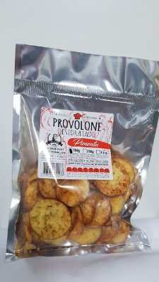 Provolone Desidratado - 100 gramas - Sabor Pimenta