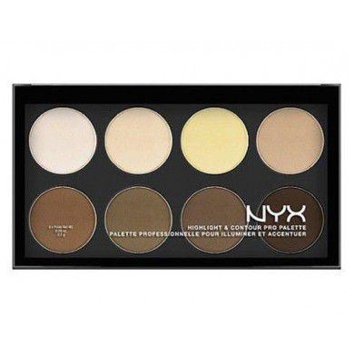 Paleta de Contorno e Iluminador Highlight & Contour Pro Nyx