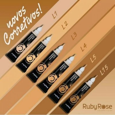 Corretivo de Alta Cobertura Com Aplicador - Ruby Rose