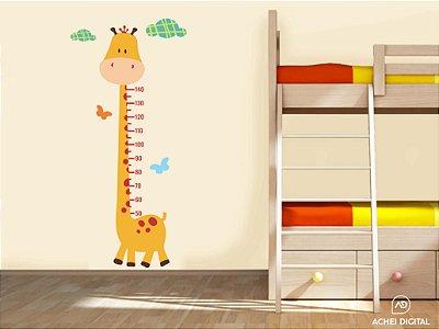 """Adesivo de Parede Régua """"Girafa""""- medida de 82cm x176cm (colado)"""
