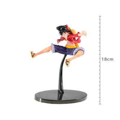 ACTION FIGURE ONE PIECE - MONKEY D. LUFFY - SCULTURES COLOSSEUM VI