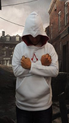 Moletom Assassins Creed Branco