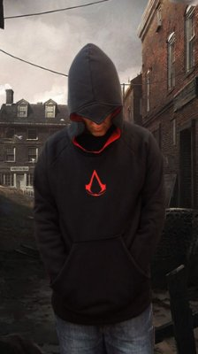 Moletom Assassins Creed Preto