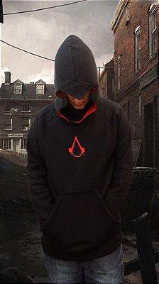Moletom Assassins Creed Preto