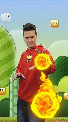 Moletom Flor de Fogo (Fireflower Super Mario Bros)