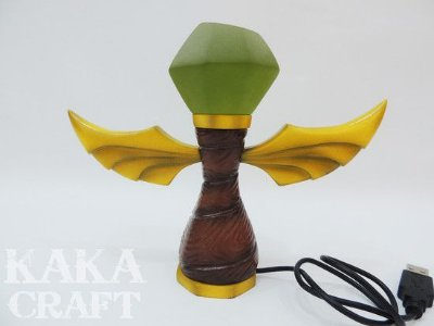 Luminária USB Ward Verde (Sentinela League of Legends)