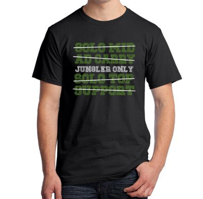 Camiseta Jungler Only (League of Legends)