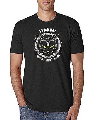 Camiseta Gato Wicca