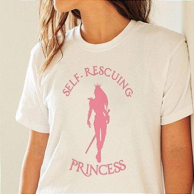 Camiseta Self-Rescuing Princess