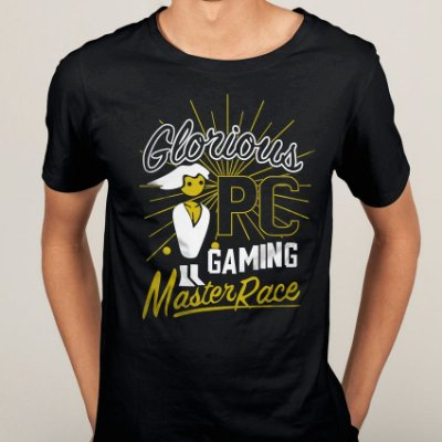 Camiseta Glorious PC Gaming Master Race