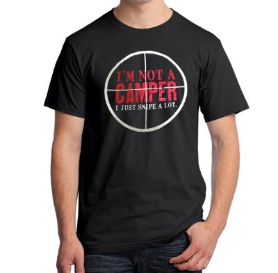 Camiseta I'm Not A Camper