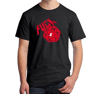 Camiseta Fuck D20