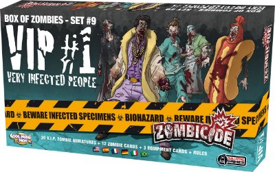Zombicide - VIP #1 - Very Infected People - Expansão